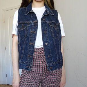 Jackets & Blazers - DENIM VEST JACKET